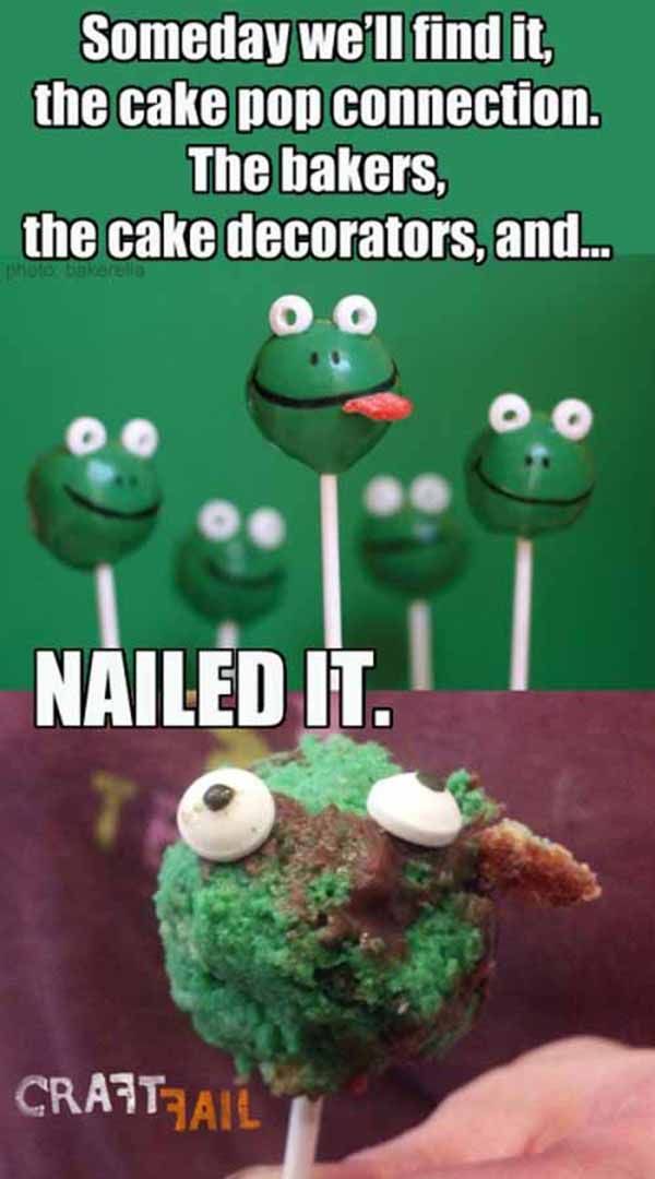 Baking Projects From Pinterest That Went Hilariously Wrong