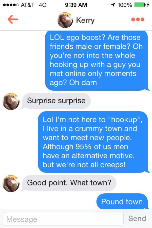 how to hook up on tinder