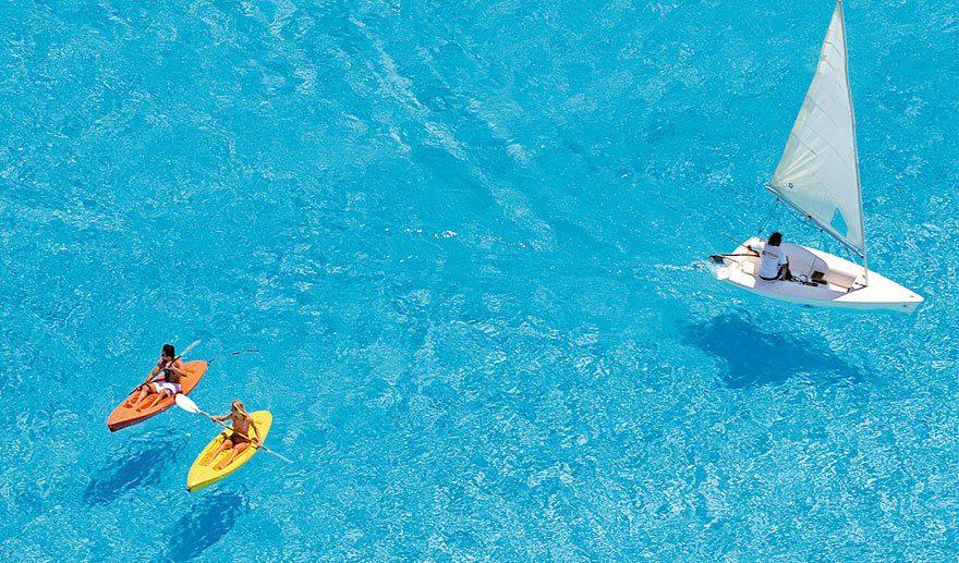 cool-private-resort-pool-kayak