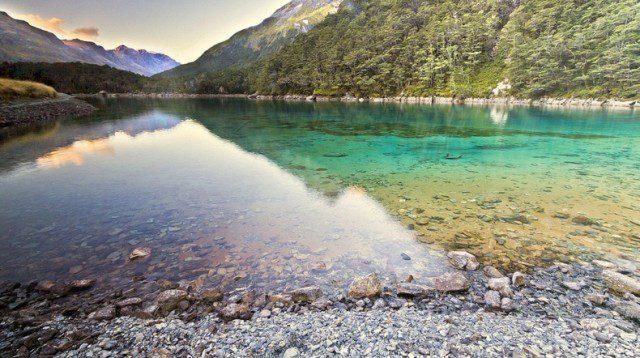 Blue Nelson Lake