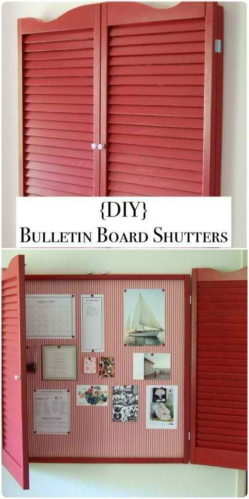 DIY shutter projects