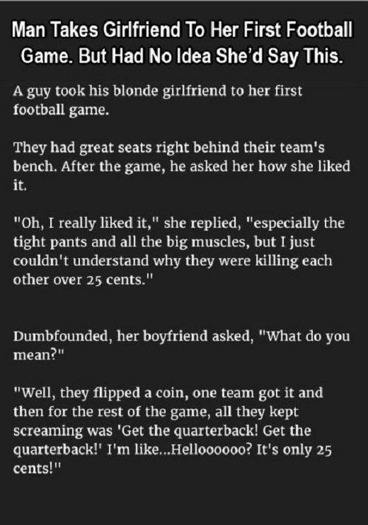 funny blond jokes