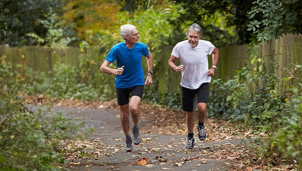 Two Older Men Are Out For A Jog When One Reveals The Secret To ...