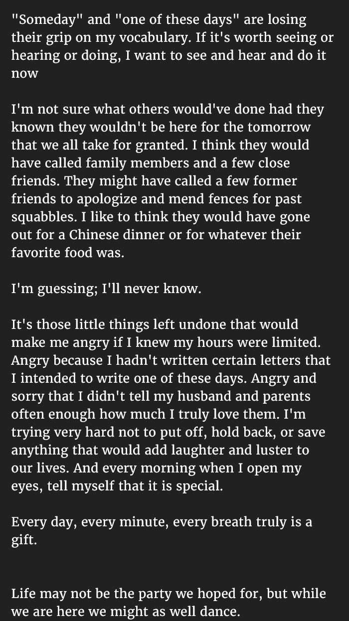 elderly woman writes letter 2