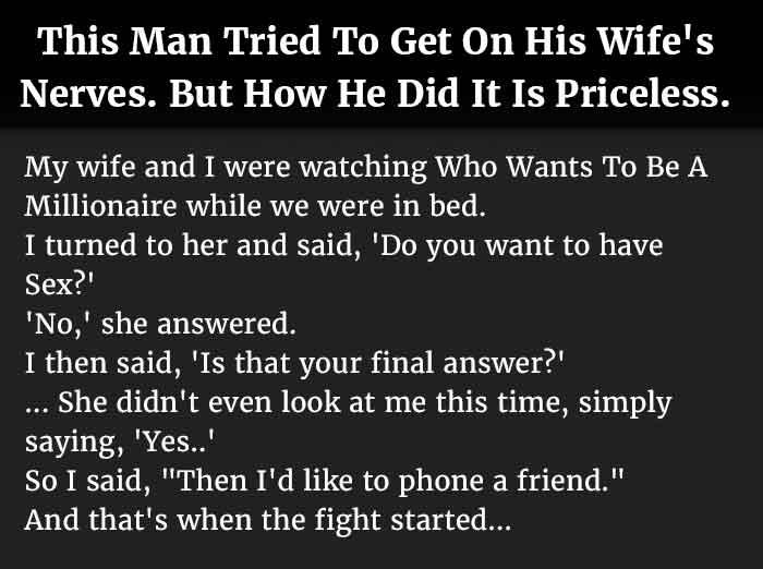man pissed wife 1