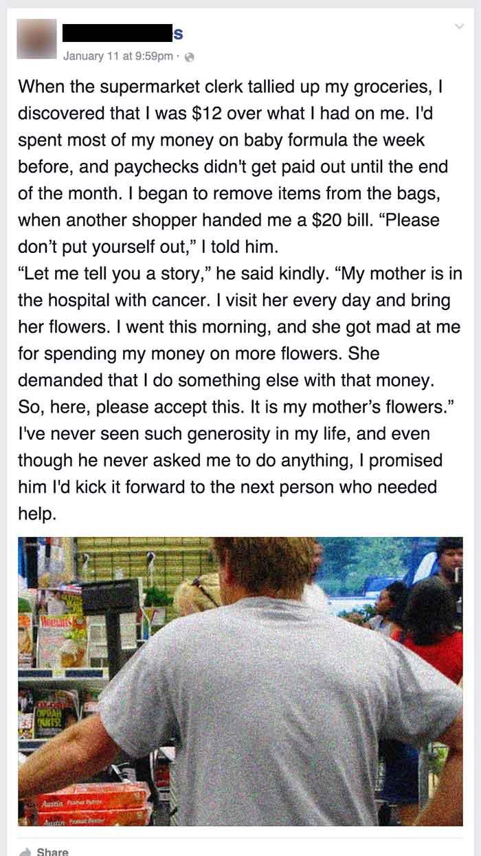 mom got help from stranger 1