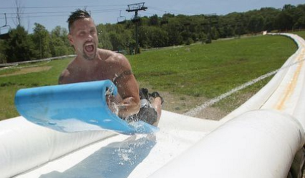 See Why The World 39 S Longest Inflatable Water Slide Has Everyone Talking