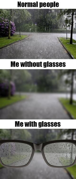 glasses related problems 1