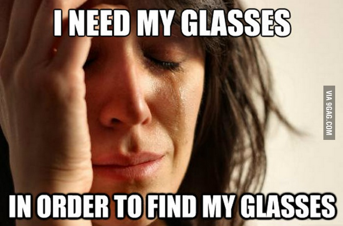 glasses related problems 5