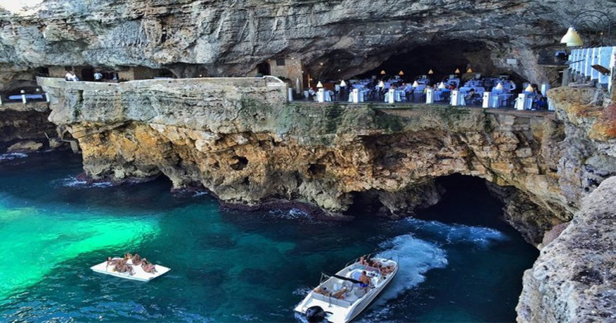 Restaurant Built Inside This Italian Cave Might Be The