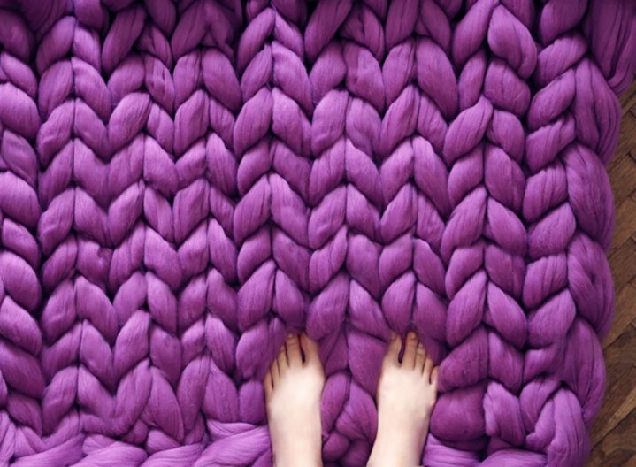 how to knit a blanket 7