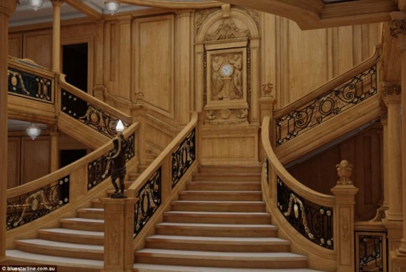 titanic exact replica billionaire 1