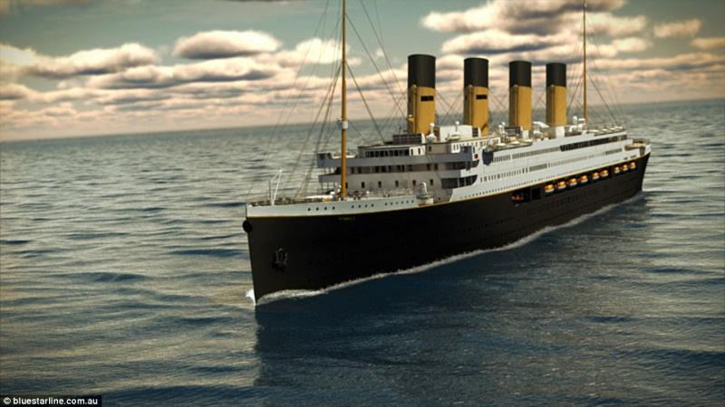titanic exact replica billionaire 9
