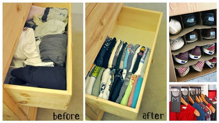 ways to organize 1