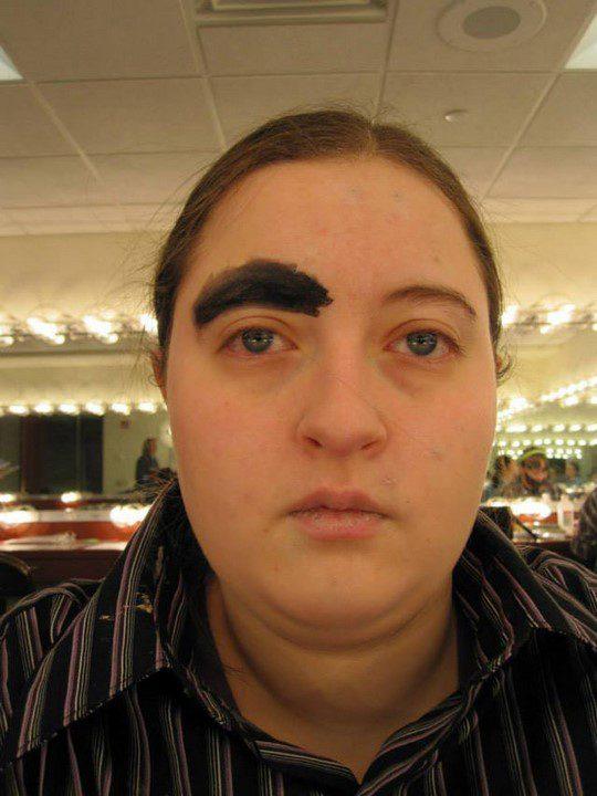 weird eyebrows 1