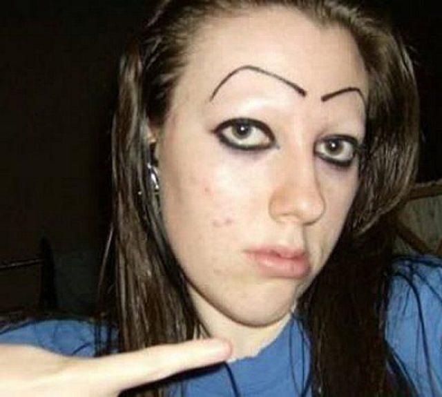 weird eyebrows 11