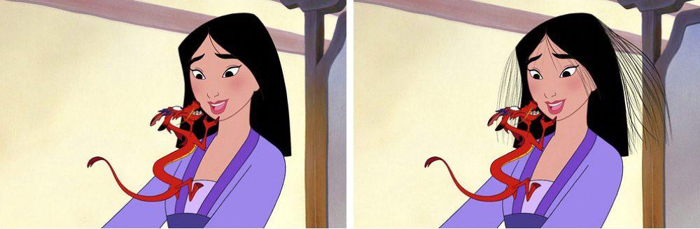 disney princess realistic hair 5