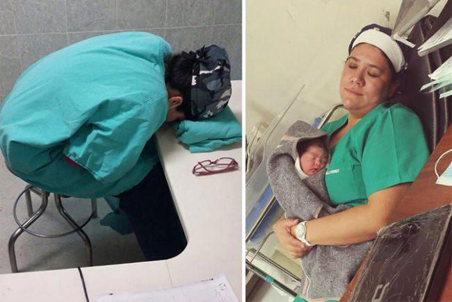 doctors sleeping 1
