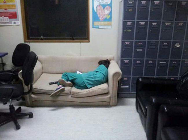 doctors sleeping 6