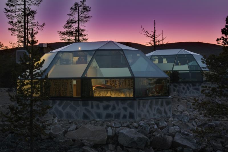 glass resort finland 2