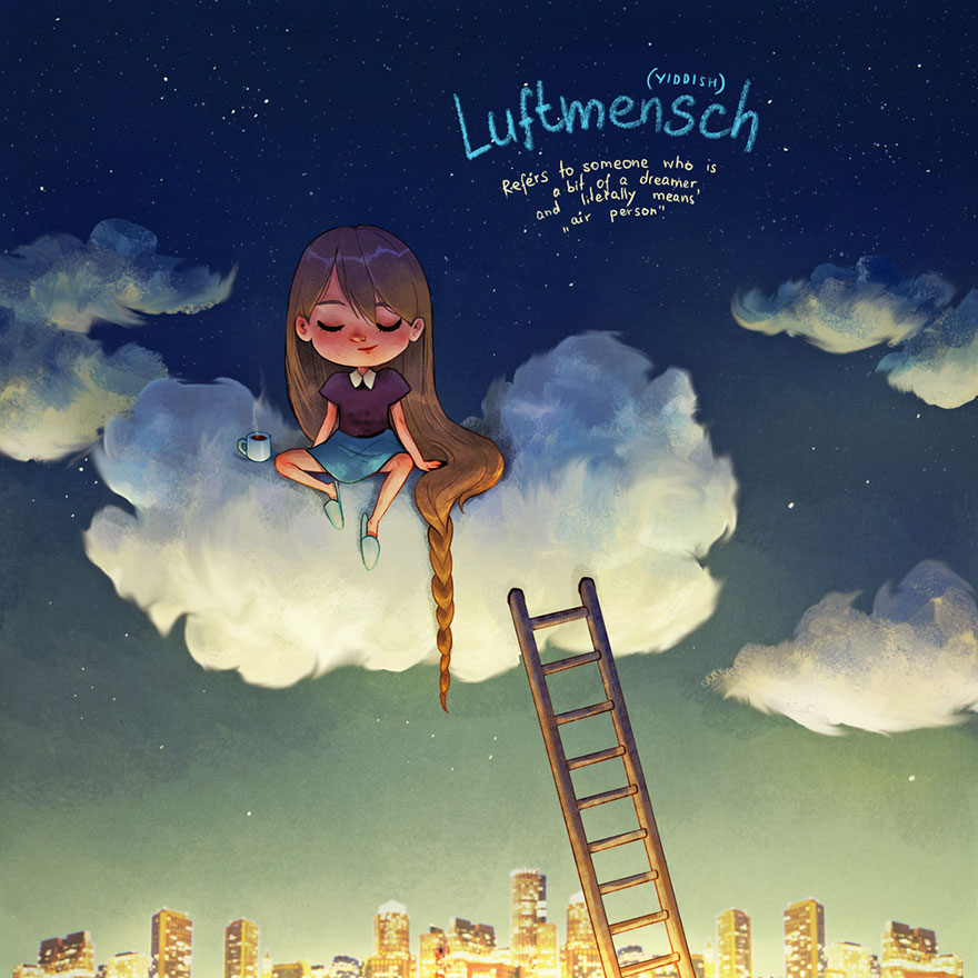 illustration from untranslatable words 8