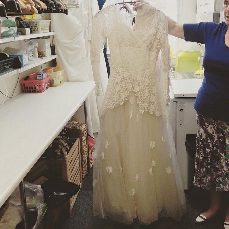 late wife's wedding dress 1