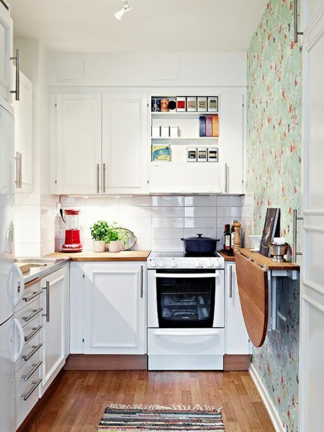 make most of small kitchen 19