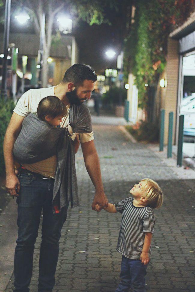 man with children 2
