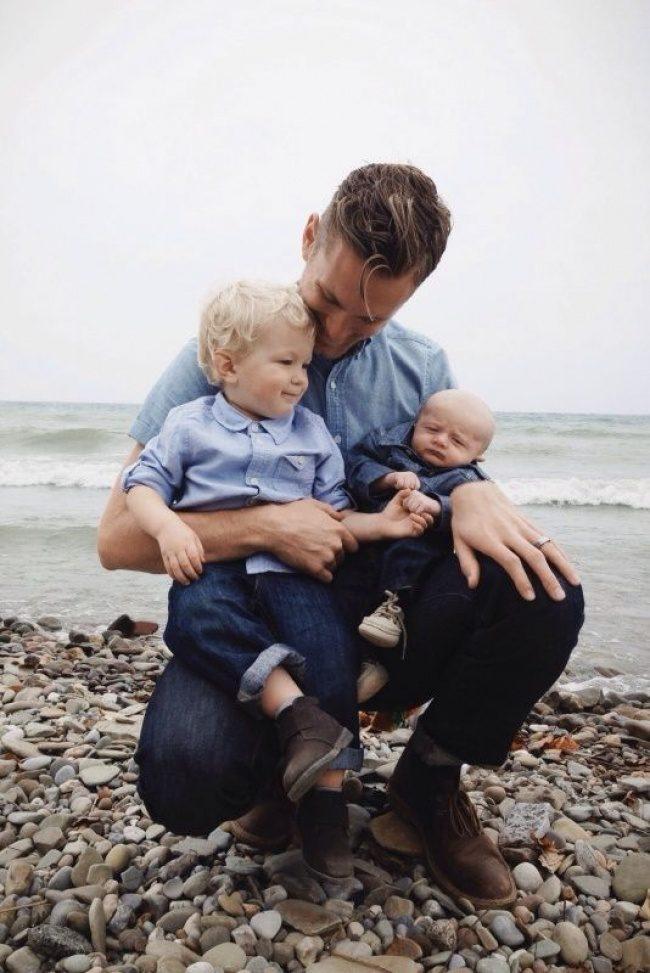 man with children 4