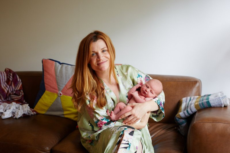 mother and newborn 12