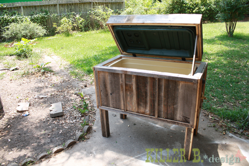 old cooler recycle 12