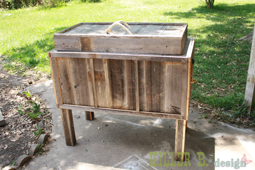 old cooler recycle 13