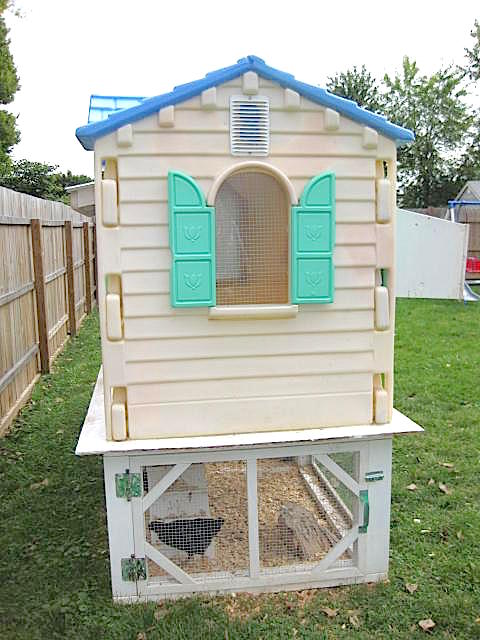 old playhouse upcycled 3