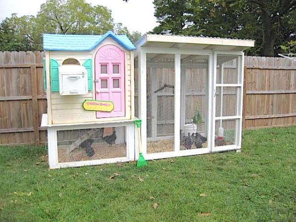 old playhouse upcycled 6
