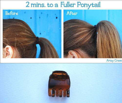 quick hairstyle hacks 11