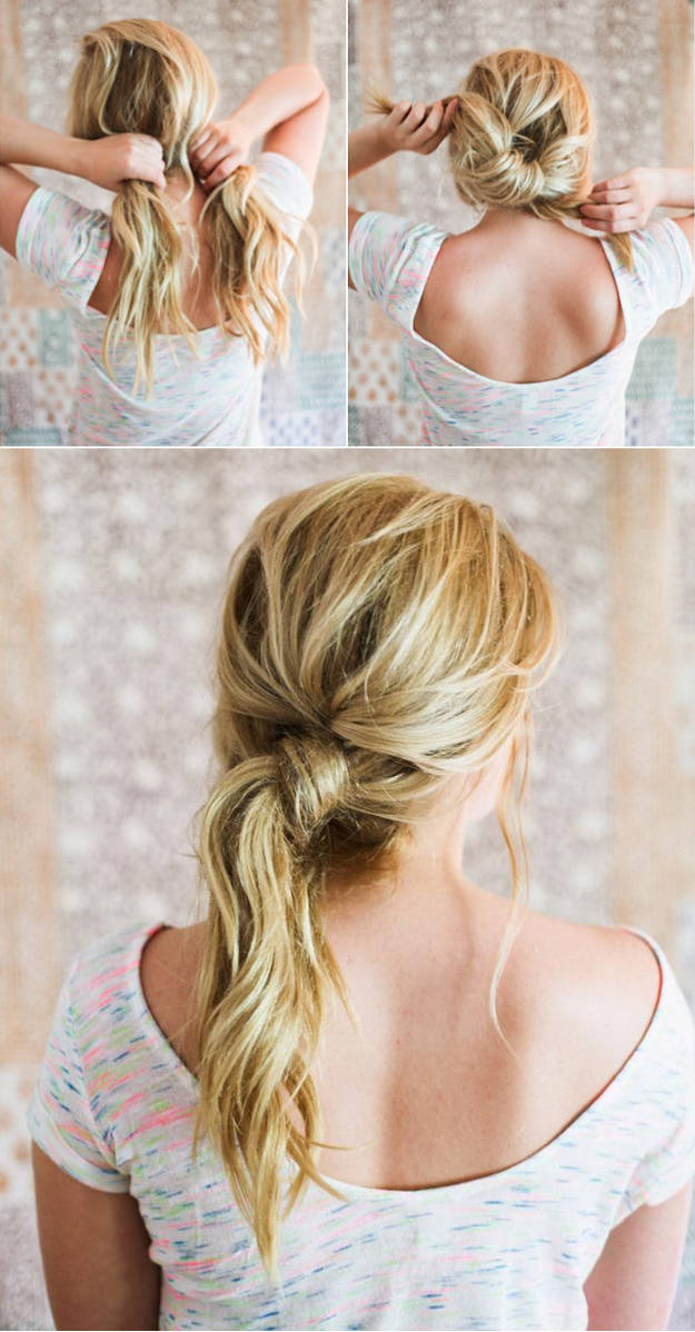 quick hairstyle hacks 6