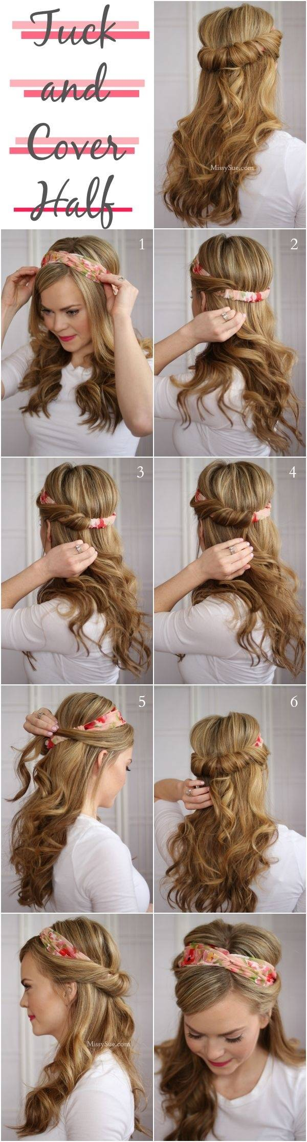 quick hairstyle hacks 7