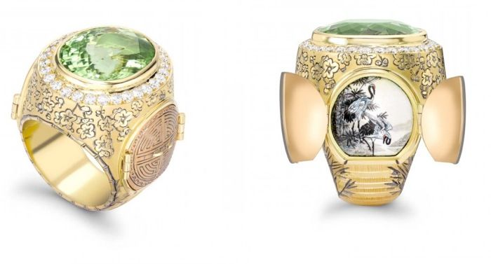 Detailed Crafted Rings