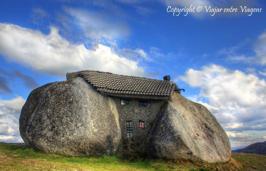 Portugal stone house
