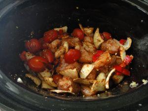 chicken tacos in a crock pot