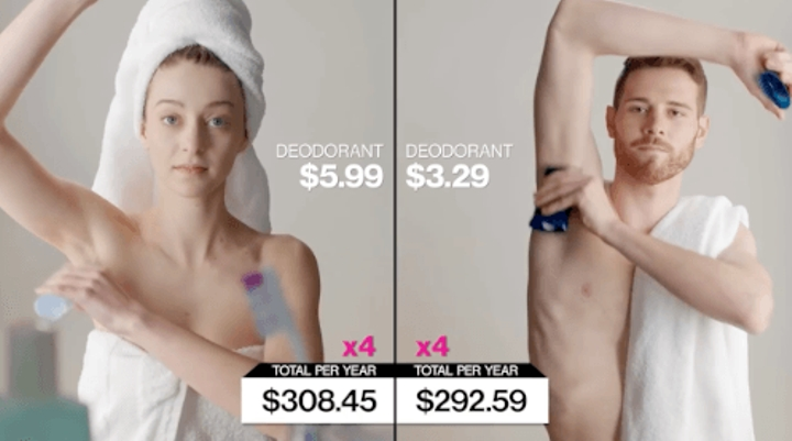 cost of being a woman