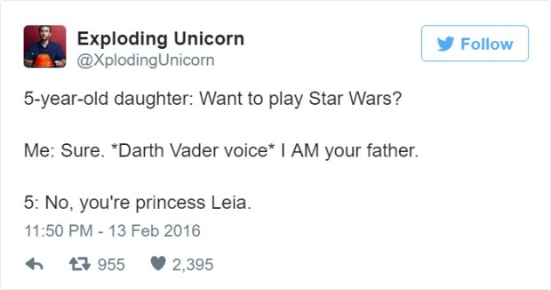 dad hilarious tweets about daughters