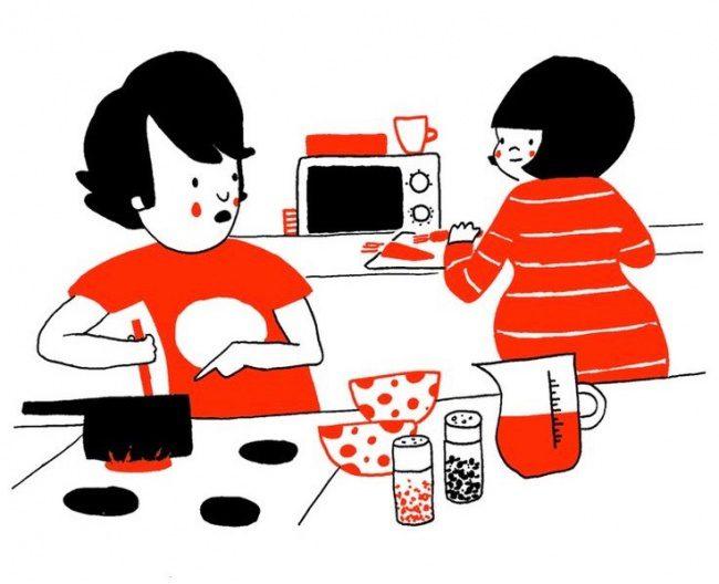 illustrations of true love 4