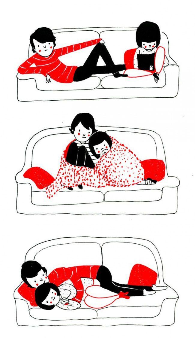 illustrations of true love 9