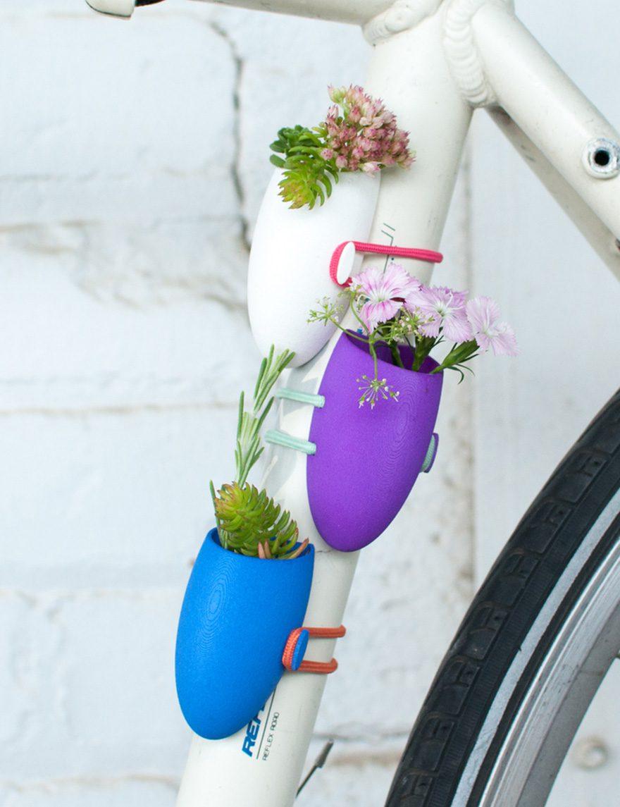 mini bicycle flower vases