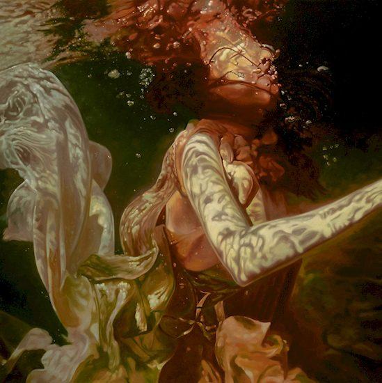 underwater painting