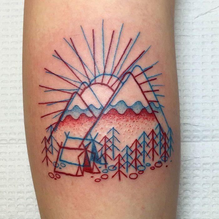 3D inspired tattoos