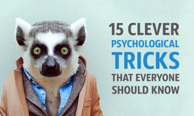 clever psychological tricks