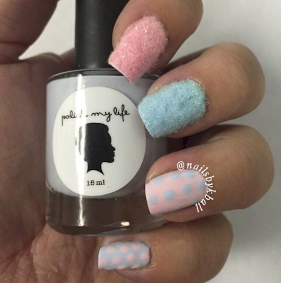 cotton candy nails 10
