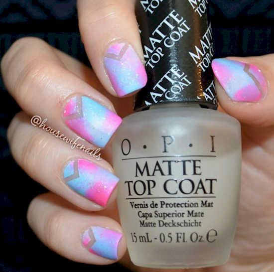 cotton candy nails 14